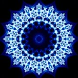Fractal Kaleidoscope Royalty Free Stock Images