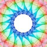 Fractal kaleidoscope Stock Image