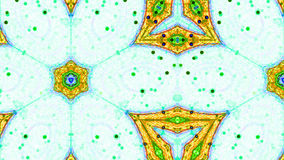 Fractal Kaleidoscopic Pattern Royalty Free Stock Photography