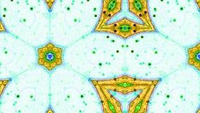 Fractal Kaleidoscopic Pattern Royalty Free Stock Photography