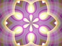 fractal kalejdoskopu medytacja royalty ilustracja