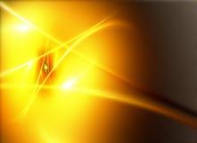 fractal kolor żółty Obraz Royalty Free