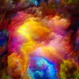 Fractal kolory Zdjęcie Stock