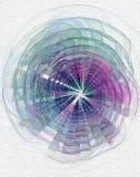 Fractal kunstachtergrond voor creatief ontwerp Stock Foto's