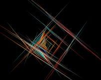 Fractal kunstachtergrond voor creatief ontwerp Royalty-vrije Stock Foto
