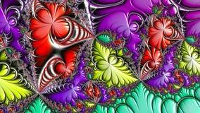 Fractal kunstwerken vector illustratie