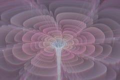 Fractal kwiat Obraz Royalty Free