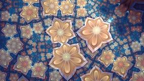 Fractal kwiat Zdjęcia Royalty Free