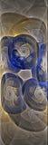 Fractal-Labyrinth Lizenzfreies Stockbild