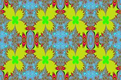 fractal liść Obraz Stock