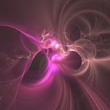 Fractal Light Forms 440 Stock Photography