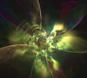 Fractal Light Forms 454 Royalty Free Stock Photography