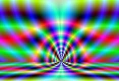 Fractal lijnen aan oneindigheid Royalty-vrije Stock Fotografie