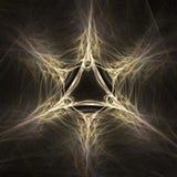 Fractal mágico del extracto de la estrella Fotografía de archivo libre de regalías