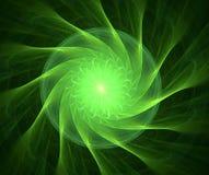 Fractal met ster; abstract ontwerp, achtergrond Royalty-vrije Stock Afbeeldingen