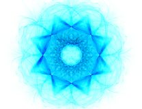 Fractal met ster; abstract ontwerp, achtergrond Royalty-vrije Stock Fotografie