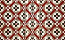 Fractal mosaic Stock Image