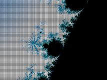 Fractal mosaic background Royalty Free Stock Photo