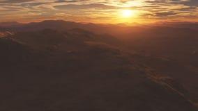 Fractal mountain Royalty Free Stock Image