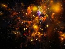 Fractal Nebula Stock Images