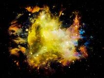 Fractal Nebula Royalty Free Stock Image