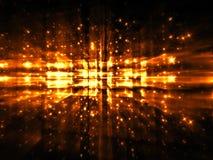 Fractal onduidelijk beeld - abstract digitaal geproduceerd beeld Royalty-vrije Stock Afbeelding