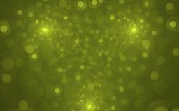 Fractal Onscherpe Lichten Royalty-vrije Stock Foto's