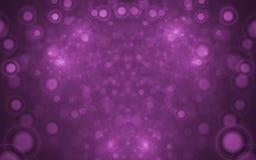 Fractal Onscherpe Lichten Royalty-vrije Stock Afbeelding