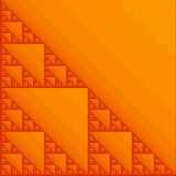 Fractal orange Royalty Free Stock Photos