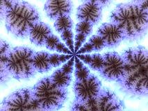 fractal płatkiem ilustracja wektor
