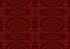 Fractal pattern background. Red fractal background with alternating patterns stock illustration