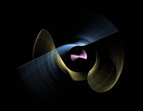 Fractal pattern. The picture shows an abstract fractal pattern Royalty Free Stock Image