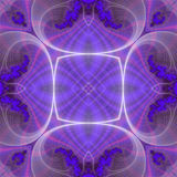 fractal pattern seamless Στοκ φωτογραφία με δικαίωμα ελεύθερης χρήσης