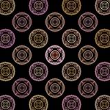 Fractal pink background disks. The fractal pink background disks Stock Illustration