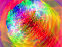 FRACTAL POSTER SERIE Royalty Free Stock Image
