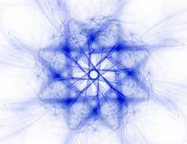 fractal promieniowy wzór na temat nauki, technologii i projekta, Zdjęcie Stock