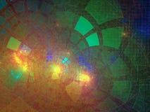 Fractal przygotowania abstrakcjonistyczny cyfrowy spływowy błyszczący piękno odpłaca się cyfrowy, dyskoteka, biznes, reklama, obraz stock