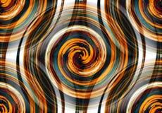 Fractal psicodélico espiral abstracto de colores borrosos libre illustration