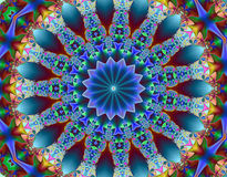 Fractal psicodélico Imagen de archivo libre de regalías