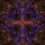 Fractal, psychedelic υπόβαθρο Ελεύθερη απεικόνιση δικαιώματος