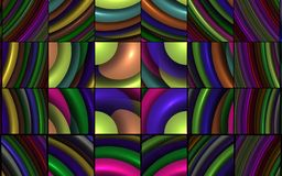 Fractal Puzzle Royalty Free Stock Image