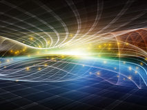 Fractal Realms Synergy Royalty Free Stock Photos