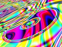 Fractal Retro- Musikalisch-Hintergrund stock abbildung