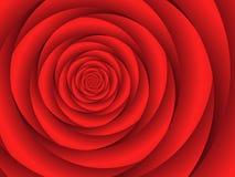 Fractal Rose Stock Images