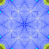 Fractal seamless repeat pattern Stock Photo
