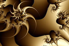 fractal sepiowa konsystencja Zdjęcie Stock