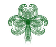Fractal Shamrock II Stock Photo