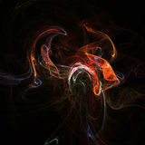 Fractal smoke Royalty Free Stock Images
