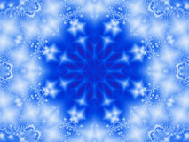 Fractal snowflake Stock Photos