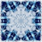 Fractal Snowflake Royalty Free Stock Photo